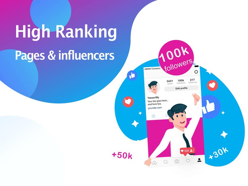 Grow audience via Influencers Marketing