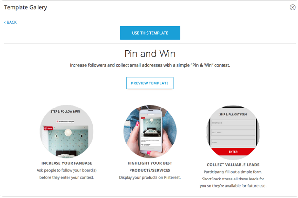 pin and win on pinterest