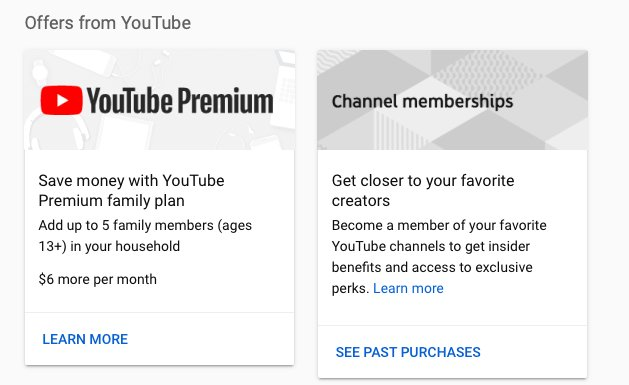 How much YouTube Premium costs
