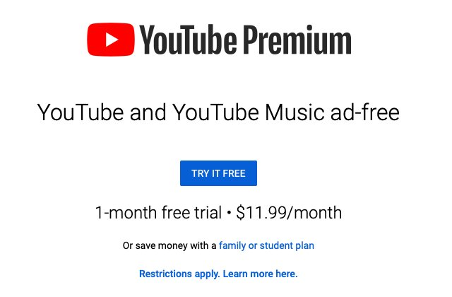 How to sign up for YouTube Premium
