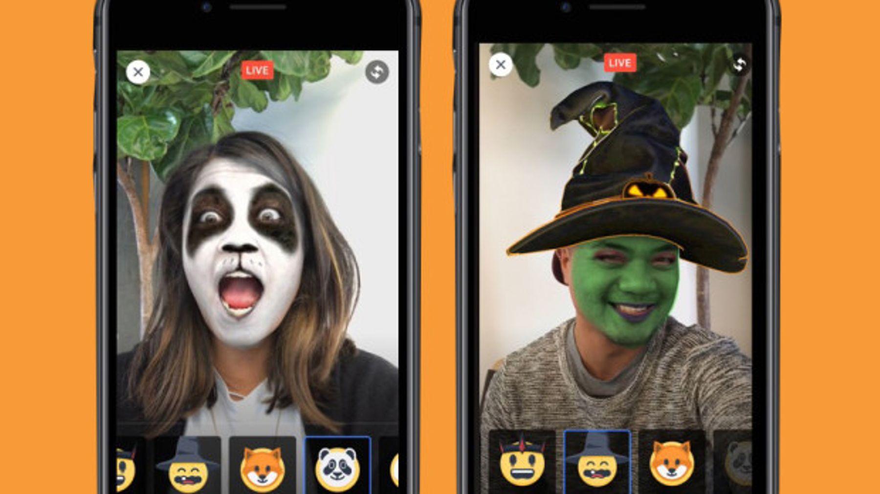 Snapchat lenses ad type